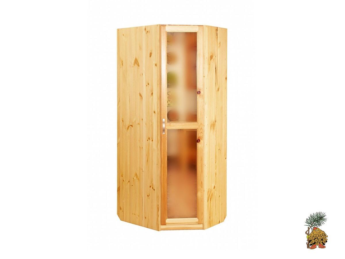 Деревянный угловой шкаф своими руками