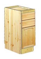 Тумба кухонная 30 с 2-мя ящиками и разделочной доской