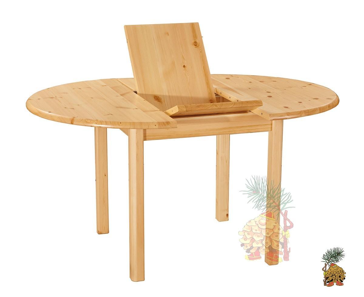 """Круглый раскладной стол из сосны """"Меццо"""""""