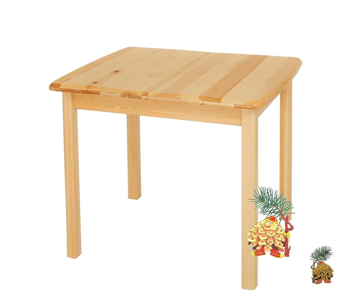 Раздвижной стол из массива карельской сосны  Теери..