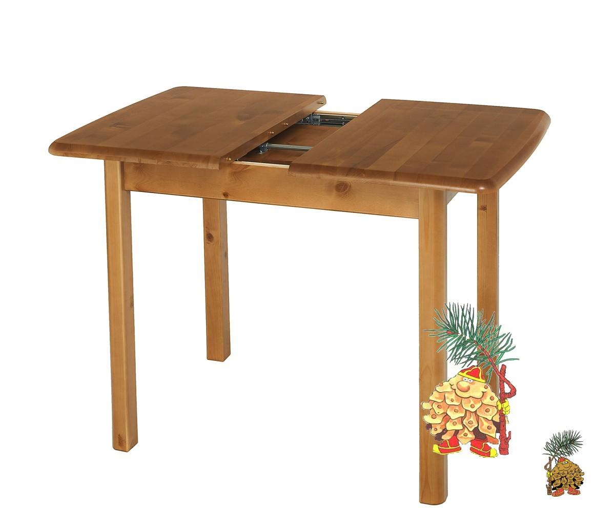 Стол обеденный из березы, раздвижной