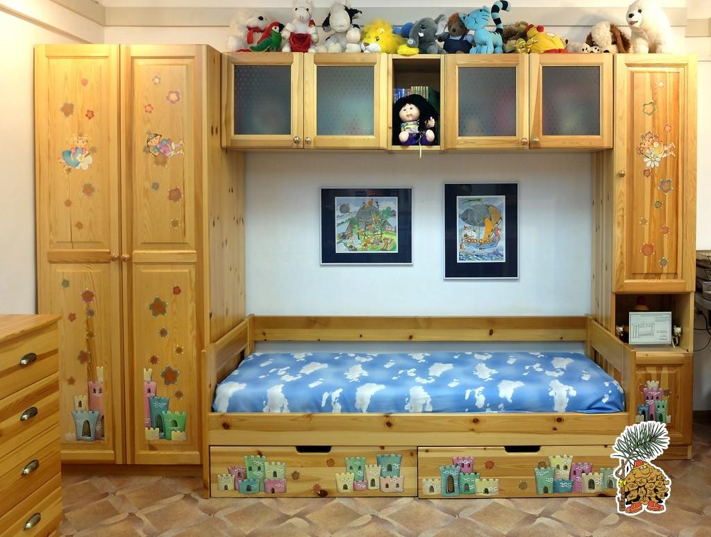 Распродажа, детская стенка с кроватью