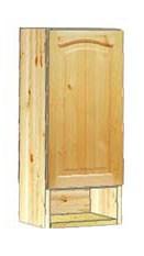 Шкаф кухонный навесной 30 с полкой внизу