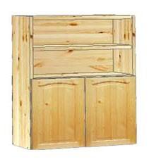 Шкаф кухонный навесной 60 с полками вверху