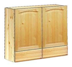 Шкаф кухонный навесной 80 с ящиками