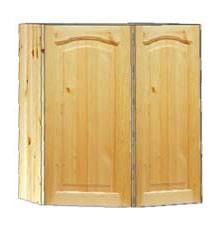 Шкаф навесной угловой 2-х дверный