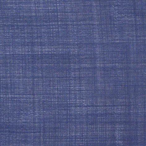 Синяя ткань для шторок, тонкая №2