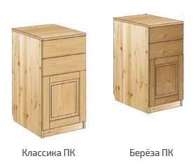 Тумба с 2-мя ящиками и дверью