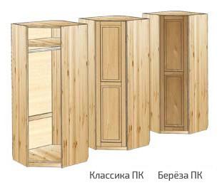 Угловой платяной шкаф