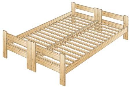 Кровать двуспальная №55