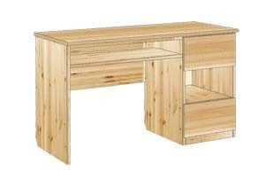 Письменный стол из сосны №111