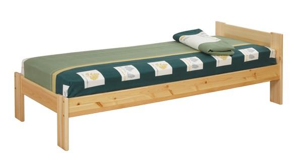Кровать из сосны с одной спинкой №2