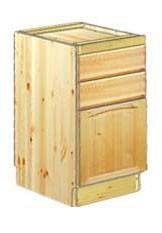 Тумба кухонная 40 с 2-мя ящиками и разделочной доской