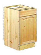 Тумба кухонная 40 с одним ящиком