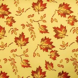 Ткань  № 28 Кленовая аллея с крупными листьями