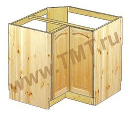 Шкаф (тумба) под мойку угловой