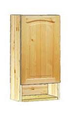 Шкаф кухонный навесной 40 с нишей внизу