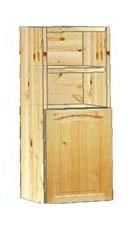 Шкаф кухонный навесной 30 с нишей вверху