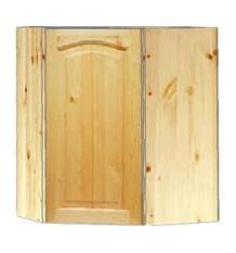 Шкаф кухонный навесной угловой