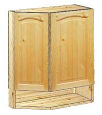 Шкаф кухонный навесной усеченный 62 с нишей внизу