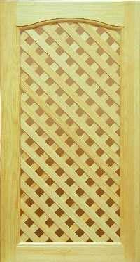 Фасады кухонные, стиль Готика с решеткой