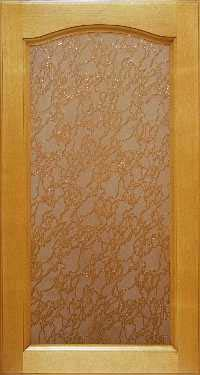 Готика-береза со стеклом