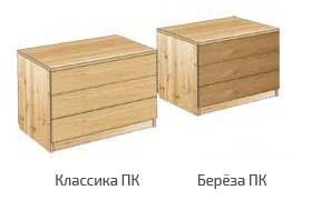 Тумба с 3-мя ящиками