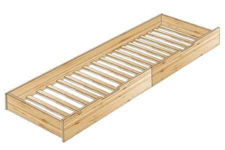 Выдвижная кровать для дополнительного спального место
