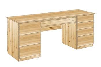 Стол письменный с ящиками 2-х тумбовый №22