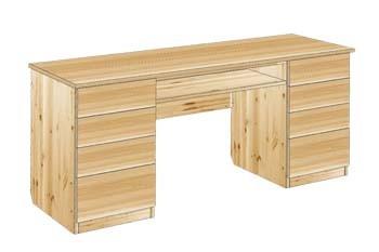 Стол письменный двухтумбовый с ящиками №23