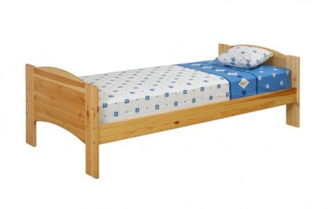 Кровать из сосны Хакка с двумя спинками