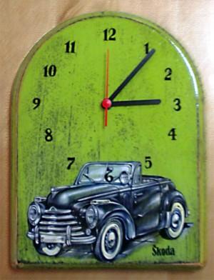 "Часы ""Авто - Skoda"""