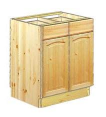 Тумба кухонная шириной 60см с 2-мя ящиками