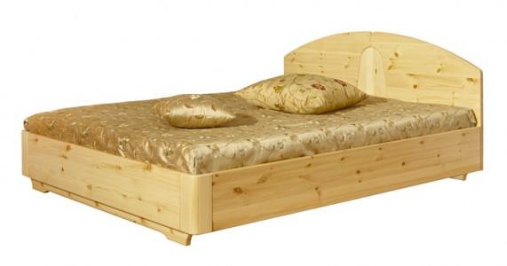Двуспальная кровать «Элита» из сосны